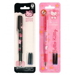 Stilou penita iridium + 2 rezerve Hello Kitty