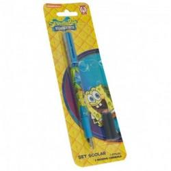 Stilou penita iridium + 2 rezerve Sponge Bob