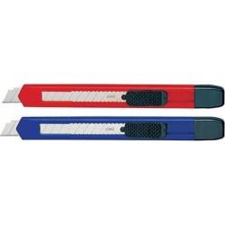 Cutter mic 9mm, sina plastic si sistem de blocare