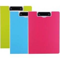 Clipboard dublu culori neon  A4 Deli