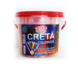 Creta alba rotunda 100 buc/set
