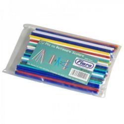Betisoare scolare colorate 100buc/set Flaro