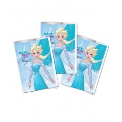 Coperti caiet A4 Policromie Frozen