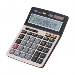 Calculator cu banda 14 digits Deli 1671C