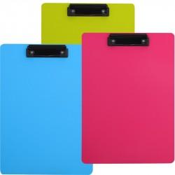 Clipboard simplu culori neon Deli