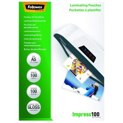 Folie laminat A5 100 microni Fellowes