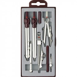 Trusa compas 8 piese Rotring Centro Universal
