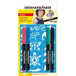 Set 4 markere tatuaj Kids Eberhard Faber