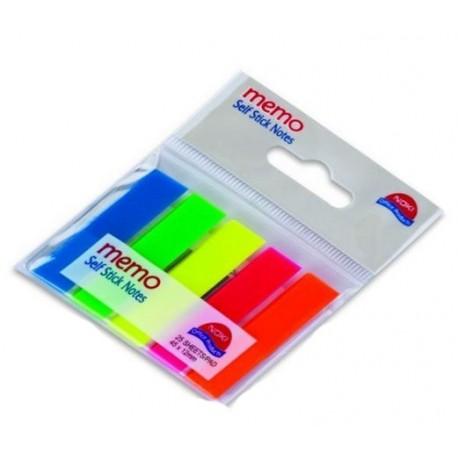 Index plastic 45x12mm 5 culori/set, Noki