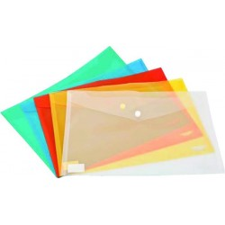Mapa plastic documente, inchidere cu capsa, A4 Noki