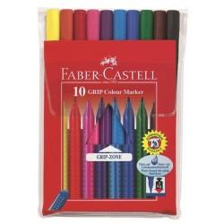 Carioca 10 culori Grip Faber-Castell