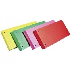 Separatoare carton biblioraft 105 x 240 mm