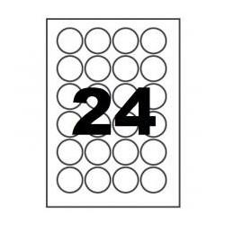 Etichete autoadezive rotunde 96/A4