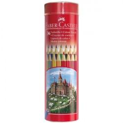 Creioane colorate 36 culori Tub Faber-Castell
