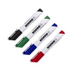 Marker whiteboard varf rotund 3mm Kores