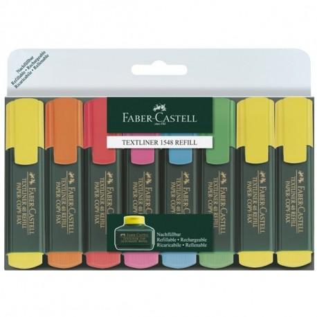 Set 8 textmarker 1548 Faber-Castell