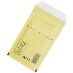 Plic antisoc 120x175mm kraft siliconic