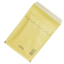 Plic antisoc 170x225mm kraft siliconic