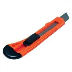 Cutter mare 18mm, sina plastic si sistem de blocare