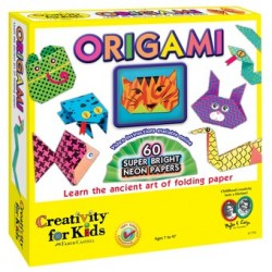 Set Creativity Neon Origami