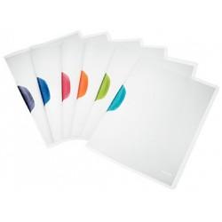 Dosar plastic cu clip color A4 Magic Leitz