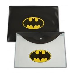 Mapa plastic cu buton A4 Batman
