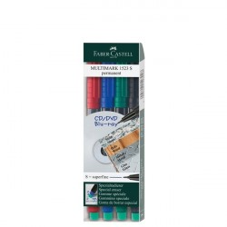 Set 4 marker permanent S Multimark Faber-Castell