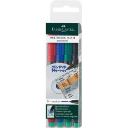 Set 4 marker permanent M Multimark Faber-Castell