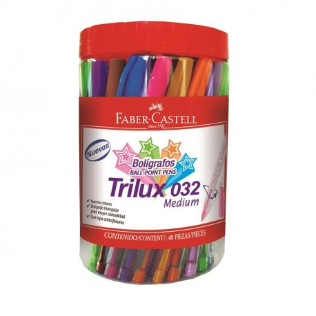 Pix unica folosinta Trilux 032M 48 buc Faber-Castell