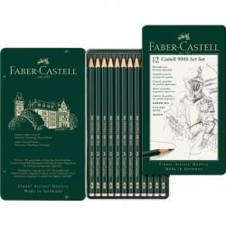 Set Arta Creion Grafit Castell 9000 Faber-Castell